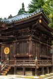 Λεπτομέρεια ναών στο ναό Shinshoji, Narita, Ιαπωνία στοκ εικόνες