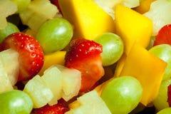 Λεπτομέρεια οβελιδίων φρούτων Στοκ Φωτογραφία