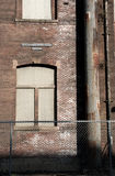Λεπτομέρεια οικοδόμησης βιομηχανικών πάρκων Στοκ φωτογραφίες με δικαίωμα ελεύθερης χρήσης