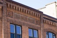 Λεπτομέρεια οικοδόμησης τούβλου Στοκ Φωτογραφίες