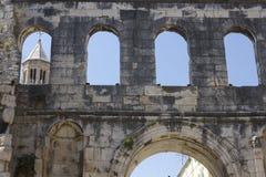 Λεπτομέρεια παλατιών Diocletian Στοκ Εικόνα