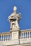 Λεπτομέρεια παπικού Archbasilica του ST John Lateran στη Ρώμη Στοκ Εικόνα