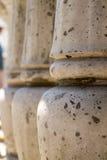 Λεπτομέρεια πετρών αρχιτεκτονικής υπαίθρια Στοκ Φωτογραφίες
