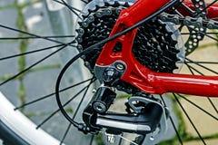 Λεπτομέρεια 4 ποδηλάτων Στοκ εικόνες με δικαίωμα ελεύθερης χρήσης