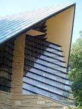 Λεπτομέρεια, πρώτο ενωτικό σπίτι συνεδρίασης της κοινωνίας, κοντά στο Μάντισον Ουισκόνσιν στοκ εικόνες