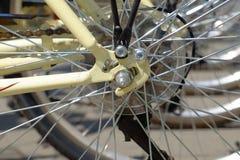 Λεπτομέρεια ροδών ποδηλάτων Στοκ εικόνες με δικαίωμα ελεύθερης χρήσης