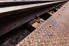 Λεπτομέρεια σιδηροδρόμου στοκ φωτογραφίες