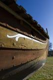Λεπτομέρεια σκαφών Βίκινγκ Στοκ φωτογραφίες με δικαίωμα ελεύθερης χρήσης