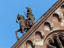 Λεπτομέρεια στεγών καθεδρικών ναών, Μάιντς Στοκ φωτογραφία με δικαίωμα ελεύθερης χρήσης