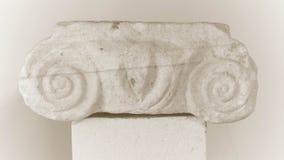 Λεπτομέρεια στηλών Antic, αρχιτεκτονικό υπόβαθρο Στοκ φωτογραφία με δικαίωμα ελεύθερης χρήσης