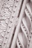 Λεπτομέρεια στην εκκλησία καθεδρικών ναών Doumo προσόψεων, Φλωρεντία Στοκ Εικόνες