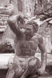 Λεπτομέρεια στην πηγή Ποσειδώνα - Fontana Di Nettuno από Ammannati (15 Στοκ εικόνες με δικαίωμα ελεύθερης χρήσης