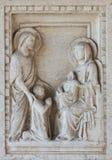 Λεπτομέρεια στον τάφο στη βασιλική σε Aquileia Στοκ εικόνες με δικαίωμα ελεύθερης χρήσης