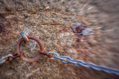 Λεπτομέρεια συνδέσεων αλυσίδων Στοκ Φωτογραφίες