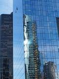 Λεπτομέρεια, σύγχρονη αρχιτεκτονική, Σικάγο Ιλλινόις, ΗΠΑ στοκ φωτογραφία με δικαίωμα ελεύθερης χρήσης