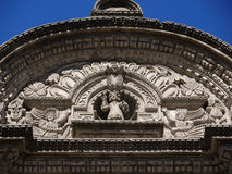 Λεπτομέρεια της αρχαίας καθολικής εκκλησίας Στοκ φωτογραφία με δικαίωμα ελεύθερης χρήσης