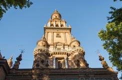 Λεπτομέρεια της αρχιτεκτονικής Plaza de Espana, Σεβίλη, Ανδαλουσία, Ισπανία Στοκ Εικόνες