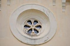 Λεπτομέρεια της εκκλησίας του ST Jerome σε Herceg Novi Στοκ εικόνα με δικαίωμα ελεύθερης χρήσης