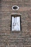 Λεπτομέρεια της επισκοπικής βασιλικής Αγίου Anthony της Πάδοβας Στοκ Εικόνα