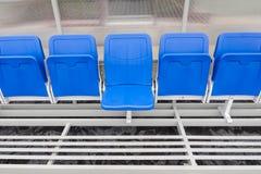 Λεπτομέρεια της καρέκλας επιφύλαξης και του πάγκου λεωφορείων προσωπικού Στοκ Εικόνες