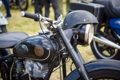 Λεπτομέρεια της μοτοσικλέτας Simson Suhl AWO 425 Στοκ εικόνα με δικαίωμα ελεύθερης χρήσης