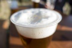 Λεπτομέρεια της μπύρας στον πίνακα στοκ φωτογραφία με δικαίωμα ελεύθερης χρήσης
