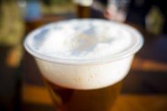 Λεπτομέρεια της μπύρας στον πίνακα Στοκ εικόνα με δικαίωμα ελεύθερης χρήσης