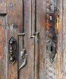 Λεπτομέρεια της πόρτας Στοκ φωτογραφία με δικαίωμα ελεύθερης χρήσης