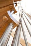 Λεπτομέρεια της σκάλας Στοκ φωτογραφίες με δικαίωμα ελεύθερης χρήσης