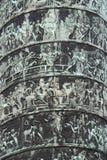 Λεπτομέρεια της στήλης Vendome Στοκ εικόνες με δικαίωμα ελεύθερης χρήσης