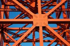 Λεπτομέρεια της χρυσής γέφυρας πυλών, Σαν Φρανσίσκο Στοκ εικόνα με δικαίωμα ελεύθερης χρήσης