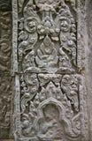 Λεπτομέρεια της bas-ανακούφισης σε Angkor Wat Στοκ Εικόνες