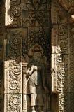 Λεπτομέρεια της khmer γλυπτικής πετρών Στοκ εικόνα με δικαίωμα ελεύθερης χρήσης