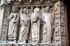 Λεπτομέρεια της Notre Dame Στοκ Φωτογραφία