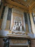Λεπτομέρεια τοίχων στο παλάτι των Βερσαλλιών Στοκ Εικόνα