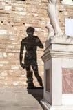 Λεπτομέρεια του αγάλματος του Δαβίδ από Michelangelo Στοκ Εικόνα