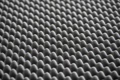 Λεπτομέρεια του ακουστικού αφρού στο στούντιο καταγραφής Στοκ Εικόνες