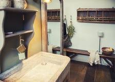 Λεπτομέρεια του εσωτερικού δωματίων λουτρών Στοκ φωτογραφία με δικαίωμα ελεύθερης χρήσης