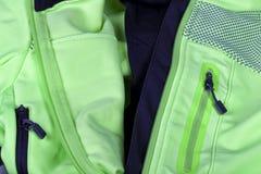 Λεπτομέρεια του εσωτερικού που ευθυγραμμίζεται με ένα σακάκι ανακύκλωσης για το χειμώνα στοκ εικόνες με δικαίωμα ελεύθερης χρήσης