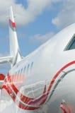 Λεπτομέρεια του εταιρικού αεριωθούμενου αεροπλάνου Στοκ Εικόνα