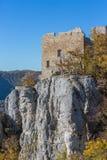 Λεπτομέρεια του κάστρου Reussenstein Στοκ Εικόνα