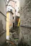 λεπτομέρεια του μεσαιωνικού χωριού arcola s κοντά στο spezia Λα Στοκ Εικόνες