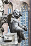Λεπτομέρεια του μνημείου στο ST John Nepomuk Στοκ Φωτογραφία