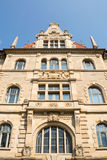 Λεπτομέρεια του νέου Δημαρχείου στο Αννόβερο, Γερμανία Στοκ Φωτογραφία