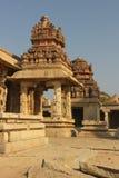 Λεπτομέρεια του ναού Krishna σε Hampi στοκ φωτογραφίες