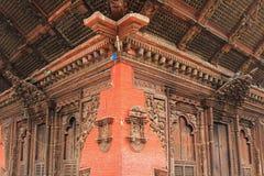 Λεπτομέρεια του ναού Kumbeshwar σε Patan, Νεπάλ Στοκ φωτογραφία με δικαίωμα ελεύθερης χρήσης