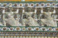Λεπτομέρεια του ναού Wat Pho στη Μπανγκόκ, Ταϊλάνδη Στοκ φωτογραφίες με δικαίωμα ελεύθερης χρήσης