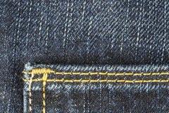 Λεπτομέρεια του παντελονιού τζιν παντελόνι Στοκ Φωτογραφίες