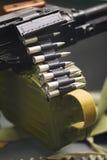 Λεπτομέρεια του πολυβόλου, ρωσικό σοβιετικό όπλο Στοκ φωτογραφία με δικαίωμα ελεύθερης χρήσης