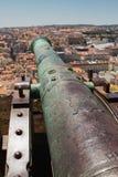 Λεπτομέρεια του πυροβόλου που δείχνεται Πορτογαλία τη Λισσαβώνα, Στοκ φωτογραφίες με δικαίωμα ελεύθερης χρήσης